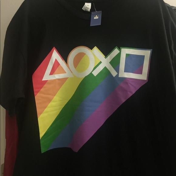 ÐаÑÑинки по запÑоÑÑ playstation t-shirt lgbt